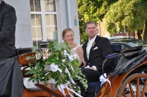 Hochzeit Ann-Kathirn Kutsche